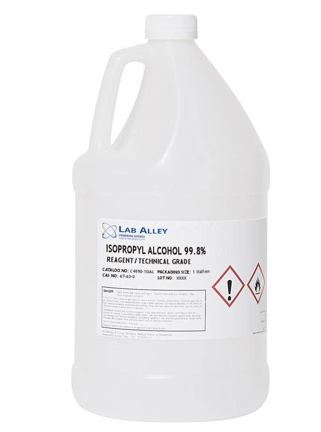 Buy Isopropyl Alcohol For Coronavirus In A 1 Gallon Bottle For $85