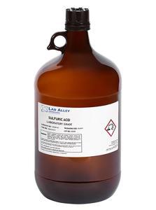 Compre una botella de ácido sulfúrico de 1 galón